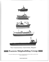Maritime Reporter Magazine, page 3rd Cover,  Jan 1998 Repairs Eastern Shipbuilding Group