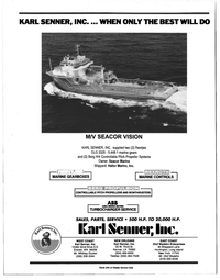 Maritime Reporter Magazine, page 4th Cover,  Jan 1998 Louisiana