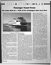 Maritime Reporter Magazine, page 25,  Jan 1998 High