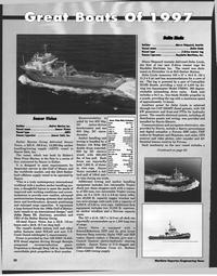 Maritime Reporter Magazine, page 26,  Jan 1998