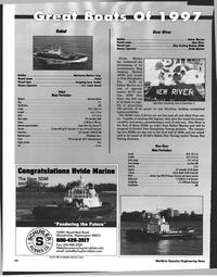 Maritime Reporter Magazine, page 28,  Jan 1998