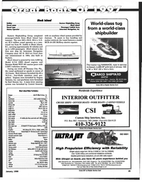 Maritime Reporter Magazine, page 35,  Jan 1998 Hawaii