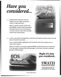 Maritime Reporter Magazine, page 42,  Jan 1998 SWATH INTERNATIONAL LIMITED