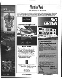Maritime Reporter Magazine, page 3,  Jan 1998