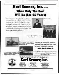 Maritime Reporter Magazine, page 48,  Jan 1998 Louisiana