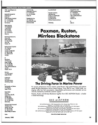 Maritime Reporter Magazine, page 59,  Jan 1998 California