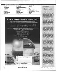 Maritime Reporter Magazine, page 62,  Jan 1998