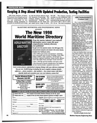 Maritime Reporter Magazine, page 66,  Jan 1998