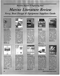 Maritime Reporter Magazine, page 68,  Jan 1998 Engineering News