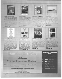 Maritime Reporter Magazine, page 73,  Jan 1998