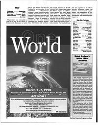 Maritime Reporter Magazine, page 84,  Jan 1998