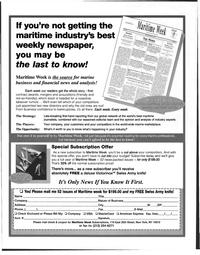 Maritime Reporter Magazine, page 85,  Jan 1998