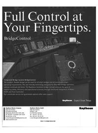 Maritime Reporter Magazine, page 10,  Feb 1999 Raytheon Marine Company