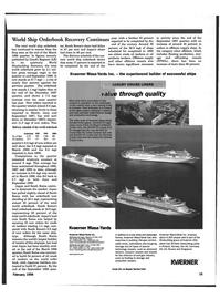 Maritime Reporter Magazine, page 16,  Feb 1999 production technology