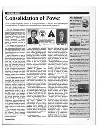 Maritime Reporter Magazine, page 20,  Feb 1999 Thomas C. Schievelbein