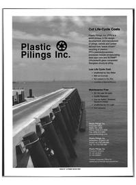 Maritime Reporter Magazine, page 35,  Feb 1999 fiberglass structural piling