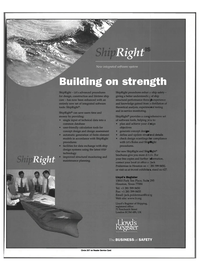 Maritime Reporter Magazine, page 2,  Feb 1999 integrated software system