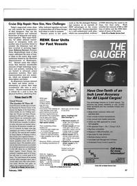 Maritime Reporter Magazine, page 40,  Feb 1999 ASL
