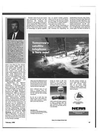 Maritime Reporter Magazine, page 50,  Feb 1999 integrated bridge control systems