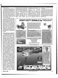 Maritime Reporter Magazine, page 54,  Feb 1999 Scandinavia