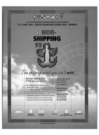 Maritime Reporter Magazine, page 4,  Feb 1999 SJ0LYST EXHIBITION CENTRE OSLO