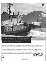 Maritime Reporter Magazine, page 68,  Feb 1999 oil spill cleanup experience