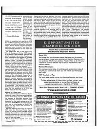 Maritime Reporter Magazine, page 74,  Feb 1999 John Breaux
