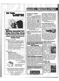 Maritime Reporter Magazine, page 75,  Feb 1999 high frequency spread spectrum technology