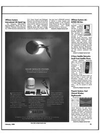Maritime Reporter Magazine, page 78,  Feb 1999 satellite technology