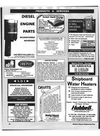 Maritime Reporter Magazine, page 91,  Feb 1999 New York