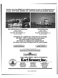 Maritime Reporter Magazine, page 4th Cover,  Feb 1999