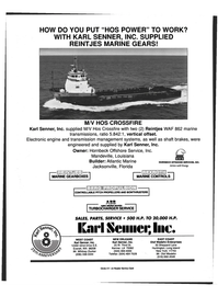 Maritime Reporter Magazine, page 4th Cover,  Mar 1999