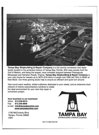 Maritime Reporter Magazine, page 33,  May 1999 Virginia