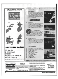 Maritime Reporter Magazine, page 2,  May 1999 STEPHAN R G ORN