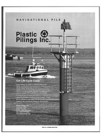 Maritime Reporter Magazine, page 39,  May 1999 structural steel core