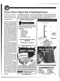 Maritime Reporter Magazine, page 41,  May 1999