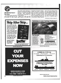 Maritime Reporter Magazine, page 50,  May 1999 Main propulsion machinery