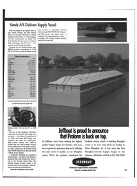 Maritime Reporter Magazine, page 51,  May 1999 fiberglass-covered hopper barges