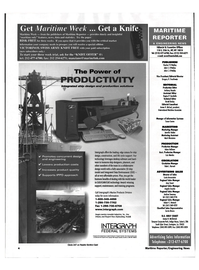 Maritime Reporter Magazine, page 4,  May 1999 New York