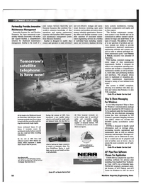 Maritime Reporter Magazine, page 58,  May 1999 pipe flow modeling software