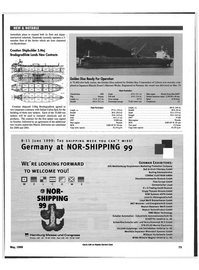 Maritime Reporter Magazine, page 71,  May 1999 bulk carrier