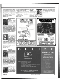 Maritime Reporter Magazine, page 75,  May 1999 cast iron engine