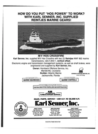 Maritime Reporter Magazine, page 4th Cover,  May 1999 Washington