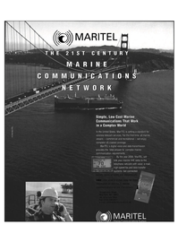 Maritime Reporter Magazine, page 7,  May 1999 voice and data transmission
