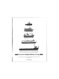 Maritime Reporter Magazine, page 3rd Cover,  Jun 1999 Repairs Eastern Shipbuilding Group