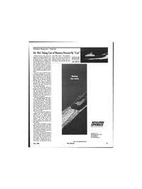 Maritime Reporter Magazine, page 41,  Jun 1999 deep water oil rigs