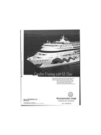 Maritime Reporter Magazine, page 49,  Jun 1999 Germanischer Lloyd ADVANCED SHIP TECHNOLOGY Head Office Hamburg