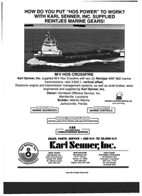 Maritime Reporter Magazine, page 2nd Cover,  Jul 1999