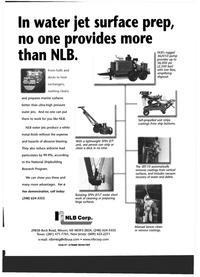 Maritime Reporter Magazine, page 19,  Jul 1999 white metal finish