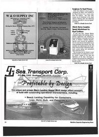 Maritime Reporter Magazine, page 26,  Jul 1999 JACKSONVILLE LONG BEACH
